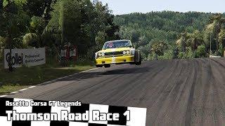 Assetto Corsa GT Legends -- Thomson Road -- Race 1