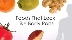 Foods That Look Like Body Parts Give Clues To Their Health Benefits