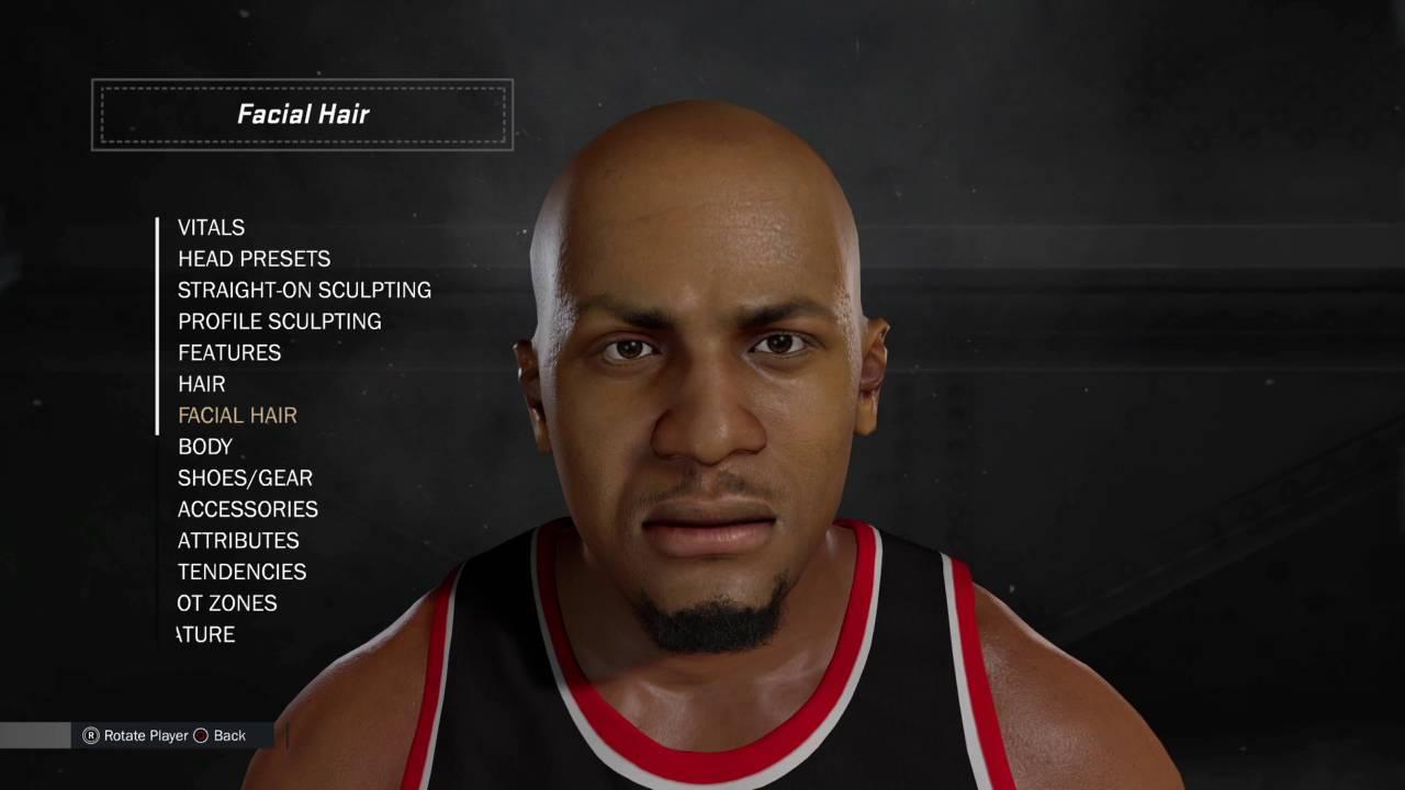 NBA 2K17 Creation Tutorial David West