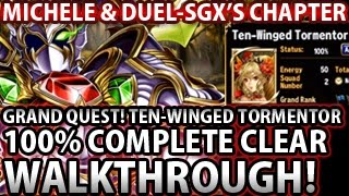 Brave Frontier Grand Quest Ten Winged Tormentor 100% Complete Clear Walkthrough