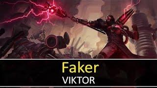Hướng dẫn chơi Viktor đường giữa - SKT T1 Faker