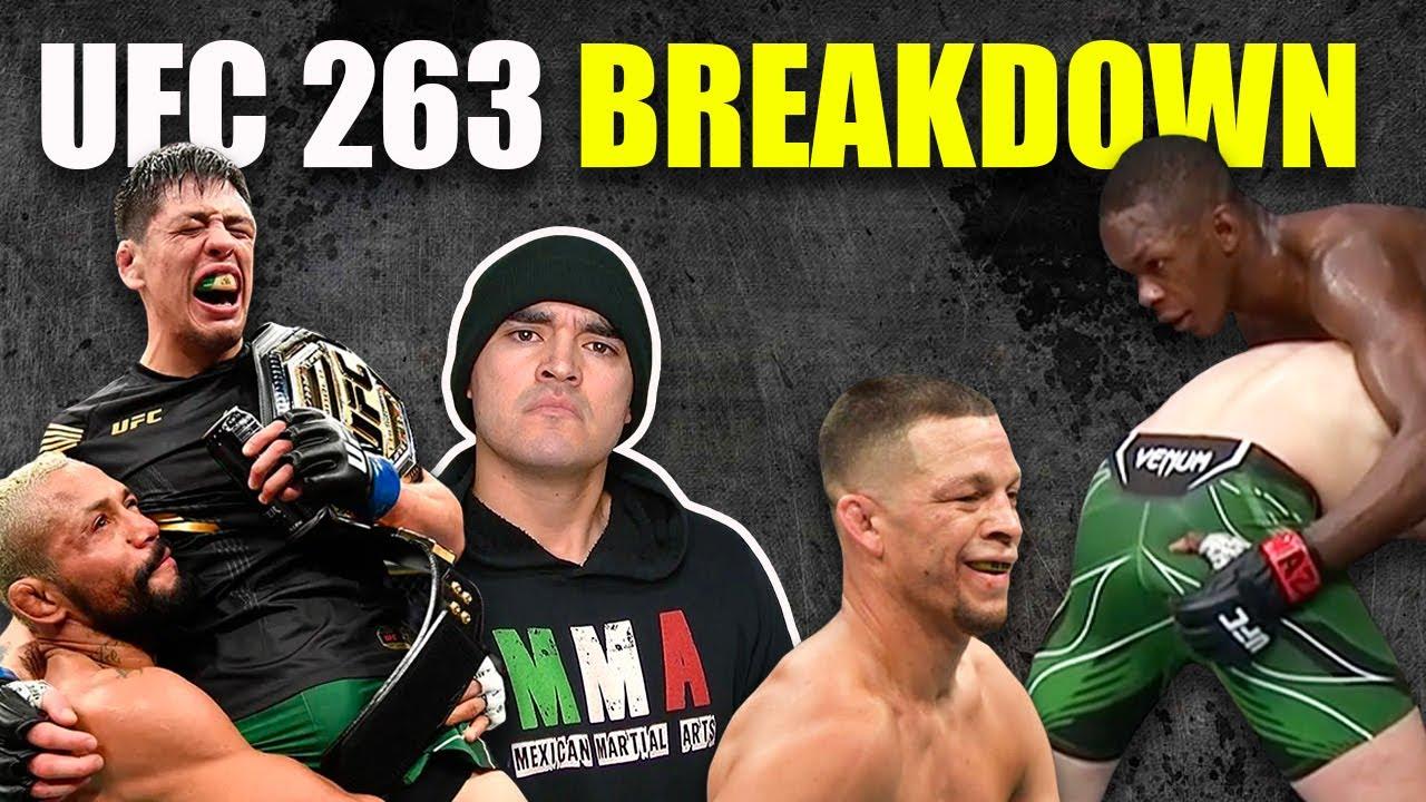 Israel Adesanya plays touch butt and Brandon Moreno wins AGAIN | UFC 263 BREAKDOWN