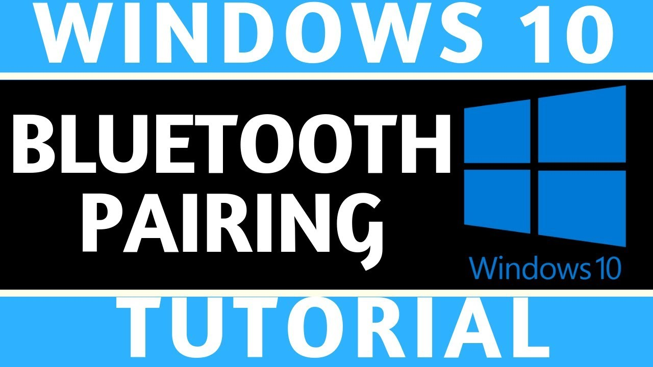 How To Connect Headphones To Windows 10 Bluetooth Pairing Tutorial Youtube
