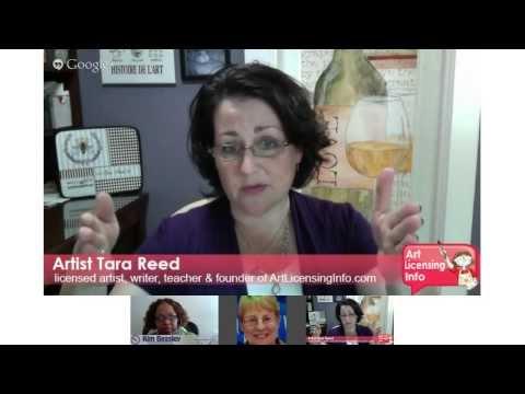 Training Hangout with Artist Tara Reed via Google+ Hangouts On Air