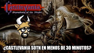 ¿Castlevania SOTN en menos de 30 minutos? - Speedrun Retro Toro