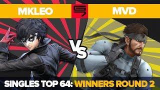 MkLeo vs MVD - Ultimate Singles: Top 64 Winners Round 2 - Genesis 7 | Joker vs Snake