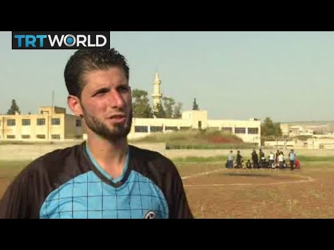 The War in Syria: Sport and stability returns to liberated Afrin