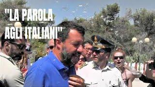 Crisi del Governo, Salvini insiste: la parola agli italiani, ma la cosa non è scontata