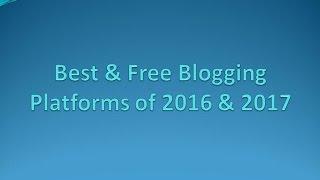 Top Blog Websites in Hindi- Create Free Blogs