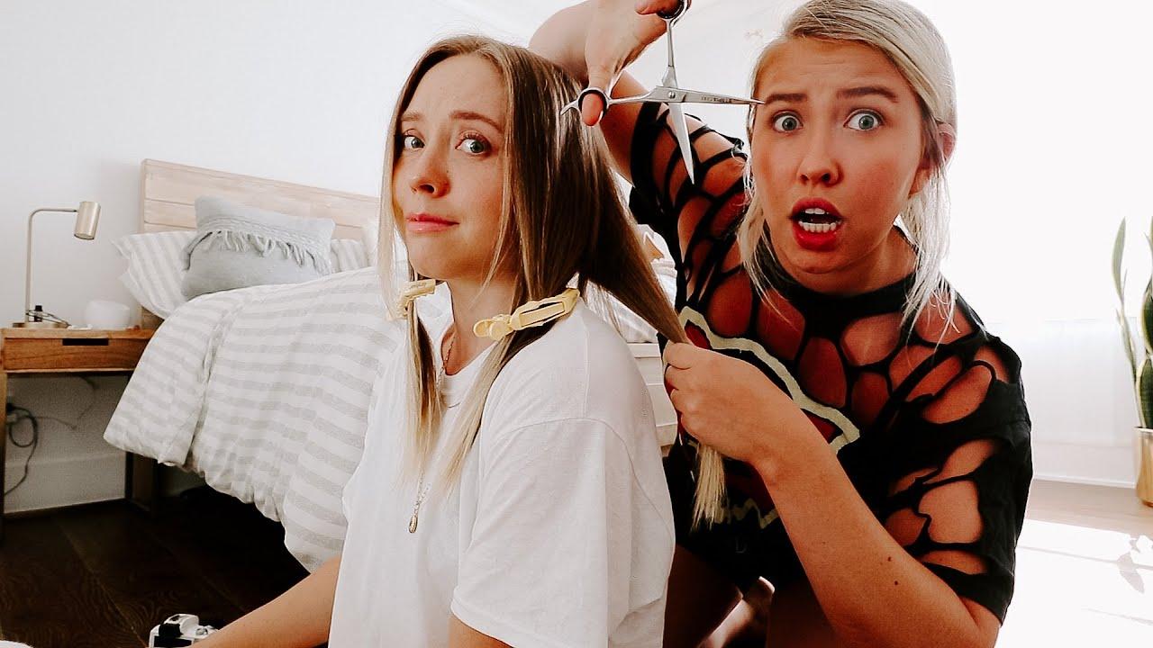 I Let My Roommate Cut My Hair!