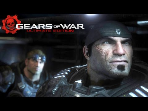 Gears of War: Ultimate Edition All Cutscenes Remastered (Game Movie) Full Story 1080p HD