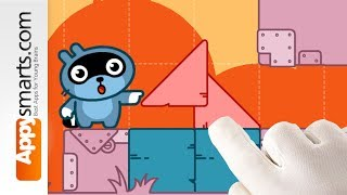 Puzzle Learning Game for Preschoolers: Pango Blocks - app demo for kids