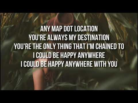 Blake Shelton - Happy Anywhere Lyrics (ft. Gwen Stefani)