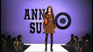 Du Juan in Ad Campaign for Anna Sui for Target, Fall 2009 Thumbnail
