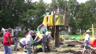 Community Built Playground