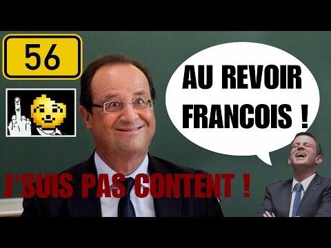 J'SUIS PAS CONTENT! #56: Hollande renonce, Najat s'enfonce, Fillon défonce & YT Drama😉 [ft. Pavalek]