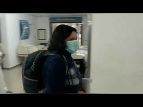 Aplausos para una chantadesa que superó el coronavirus en el hospital de Monforte