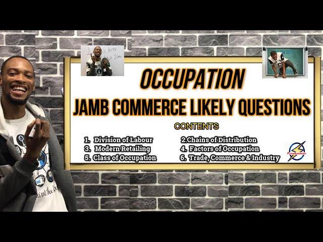 Jamb 2021 Commerce