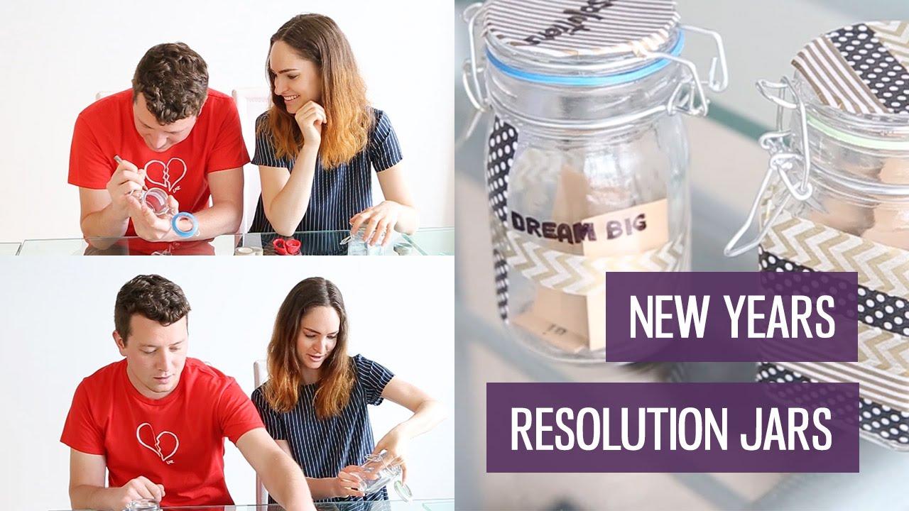 New Years Resolution Jars Diy With Tenani Charlimarietv Youtube
