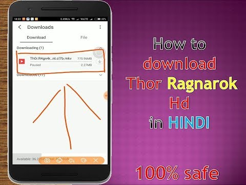 How to download Thor Ragnarok full 720p hd...