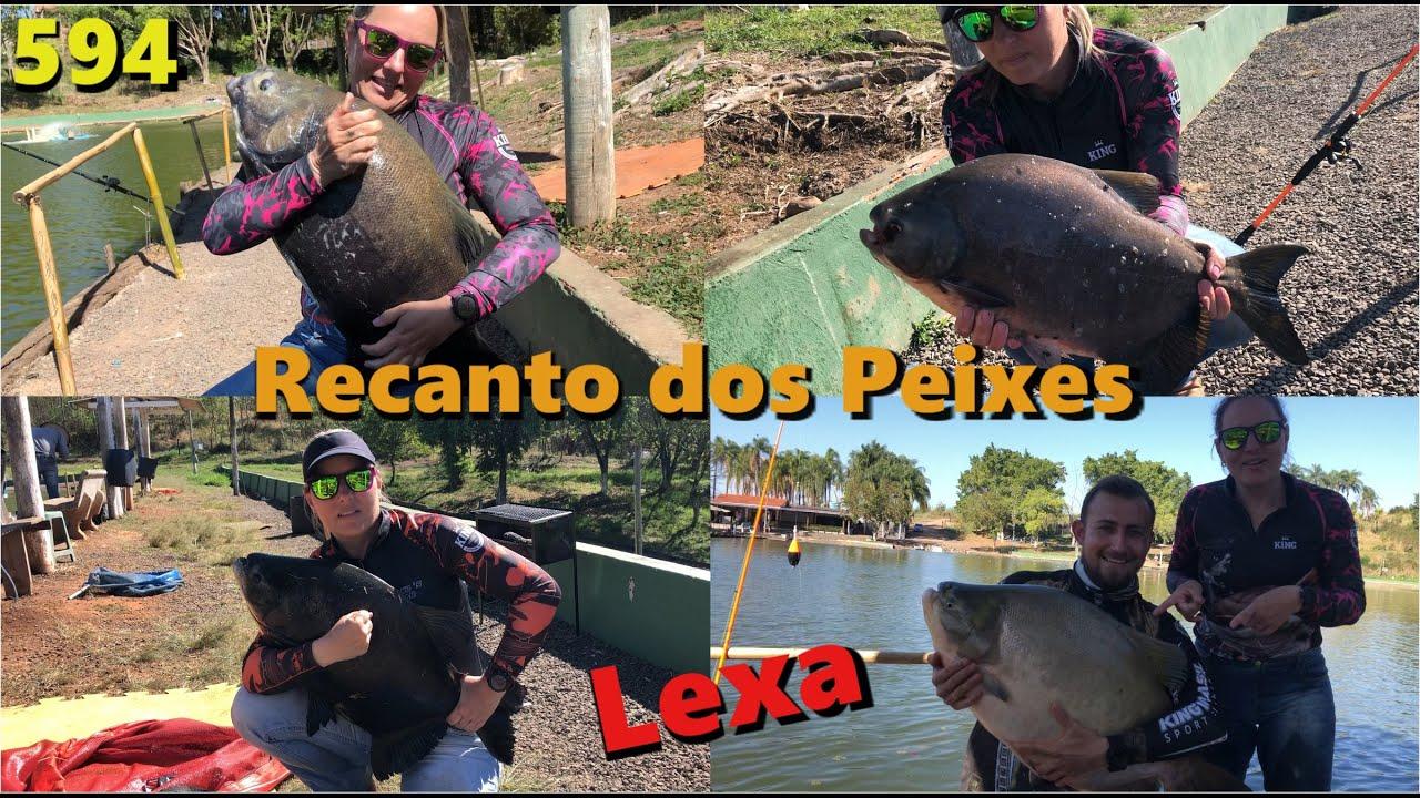 Recanto dos Peixes - Primeira pescaria da Lexa no Fishingtur - Programa 594
