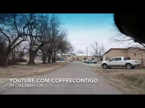 Riding around Okemah Oklahoma