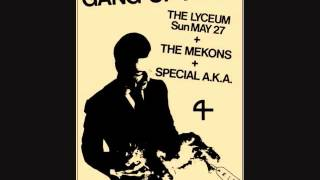 "Gang of Four ""I Found That Essence Rare"" (John Peel Session)"