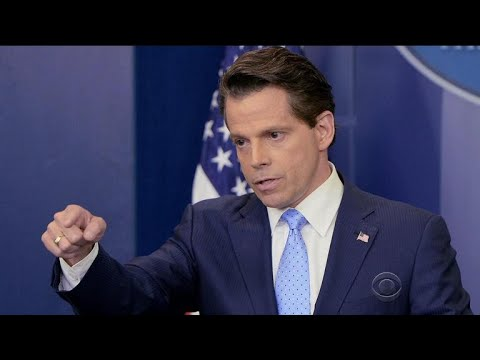 Trump fires White House communications director Anthony Scaramucci