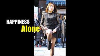 [4K] 해피니스 (유아, Happiness) - 나혼자 (씨스타) @ 190216 홍대 거리공연 직캠 By…
