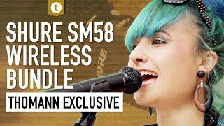 Shure BLX24/SM58BK S8 | Wireless Mic | Thomann Exclusive