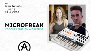 Live Workshop | MicroFreak Vocoder Edition