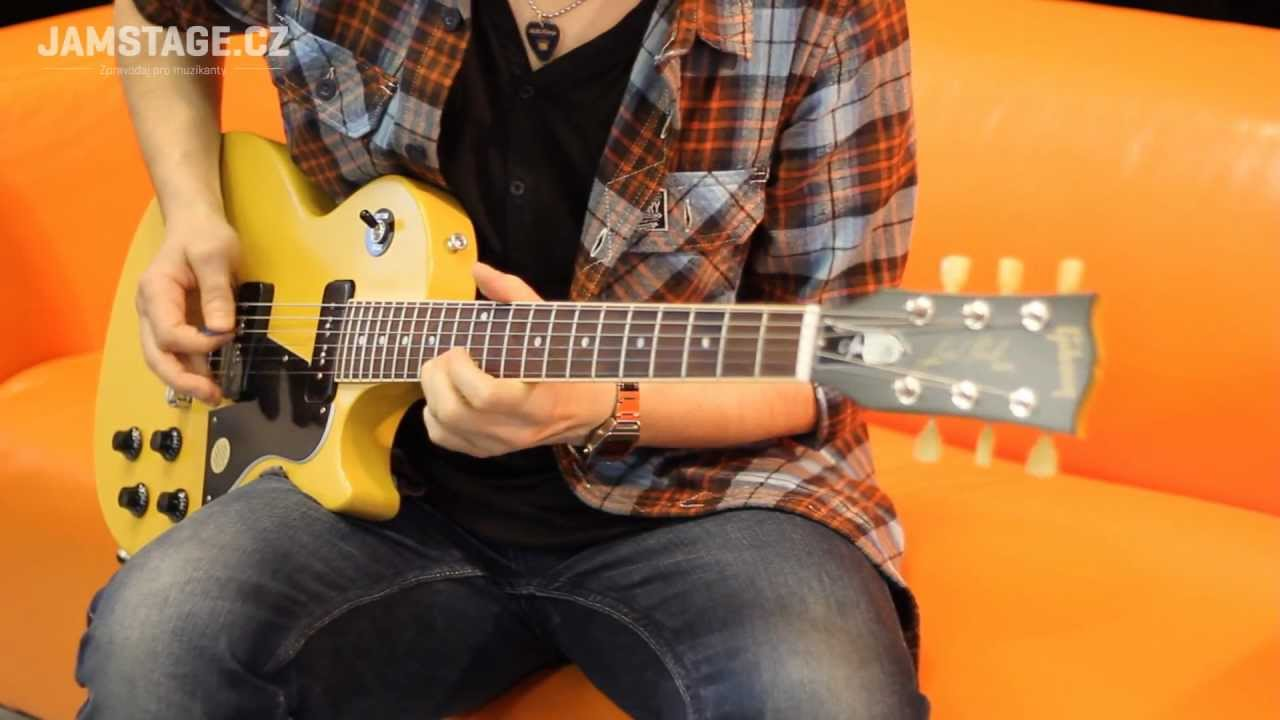 Gibson Les Paul Junior Special P 90 Aivn Youtube