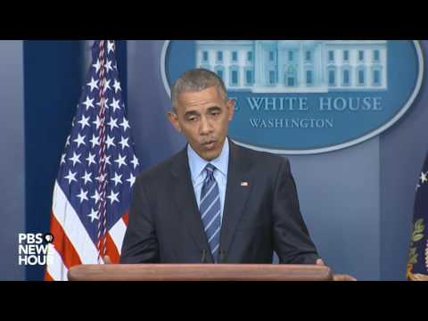Watch President Obama address Russia, Syria in final 2016 news conference