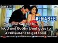 Kareena Kapoor Burns the Food (Ajnabee)