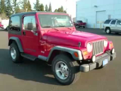 1999 jeep wrangler sport hard top in hillsboro or youtube. Black Bedroom Furniture Sets. Home Design Ideas