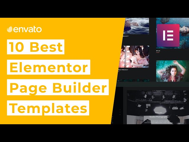 10 Best Elementor Page Builder Templates for 2020