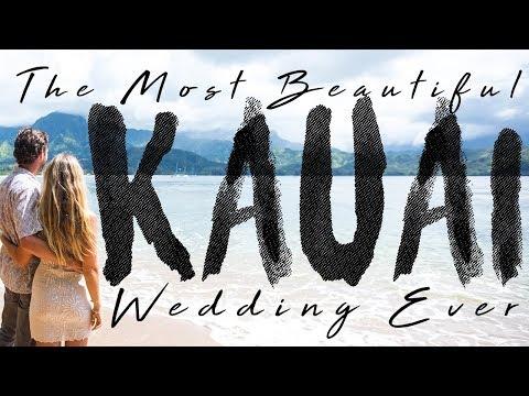 The Most Beautiful KAUAI Wedding EVER!!!