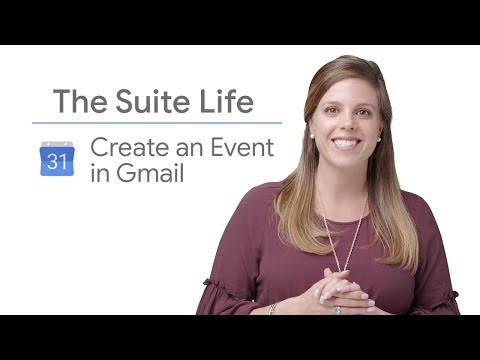 Create a Calendar Event in Gmail - The Suite Life