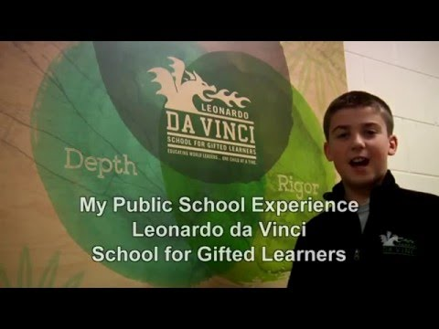 Andrew Gehm Student Profile (Leonardo da Vinci School for Gifted Learners)