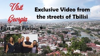 making of fast and furious 9 in Georgia | Exclusive Video for the shooting in Tbilisi streets