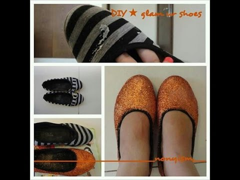 Glam Your Shoes DIY – Nonyism