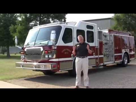 Sunbelt Fire and the Montgomery FD E-ONE Quest Rescue Pumper
