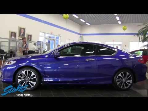 Beautiful Blue 2016 Honda Accord Coupe - Walkaround Review at Stokes Honda North