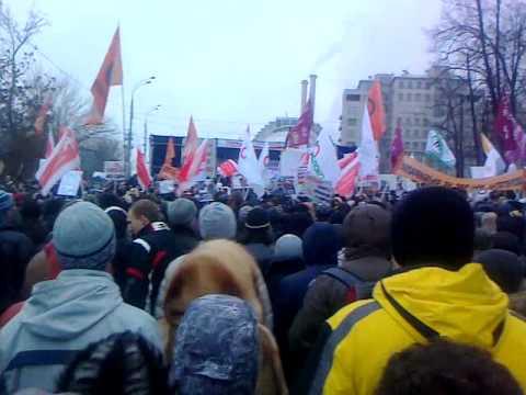 Митинг на Болотной площади 10 декабря 2011 года (Ролик 01)