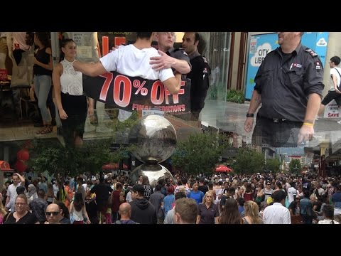Did I Get Myself Arrested  | Boxing Day 2016 | Rundle Mall Adelaide | Vlog 40 | 4K