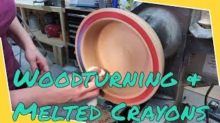 Woodturning the Crayon Bowl