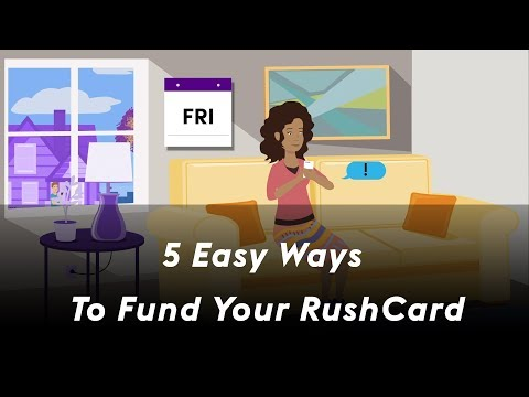 5 Easy Ways To Fund Your RushCard