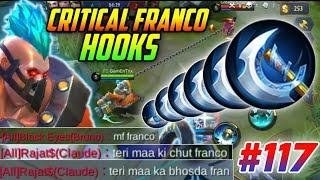 CRITICAL FRANCO HOOKS MONTAGE #117 | GamEnTrix | MOBILE LEGENDS