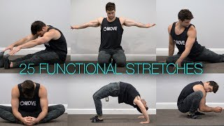 Top 10 Exercises - Full Body Flexibility | 25 of the Best Stretches