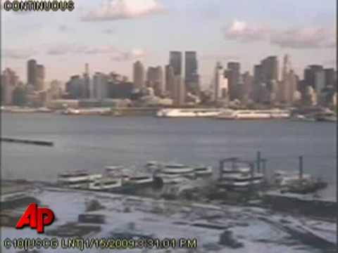 US Airways Water impact Airbus A320  Hudson River Jet crash Jan 15